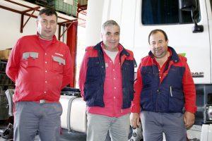 Na foto: Manuel Matias, Afonso Leandro e José Costa, os sócios da Autoengenhocas.